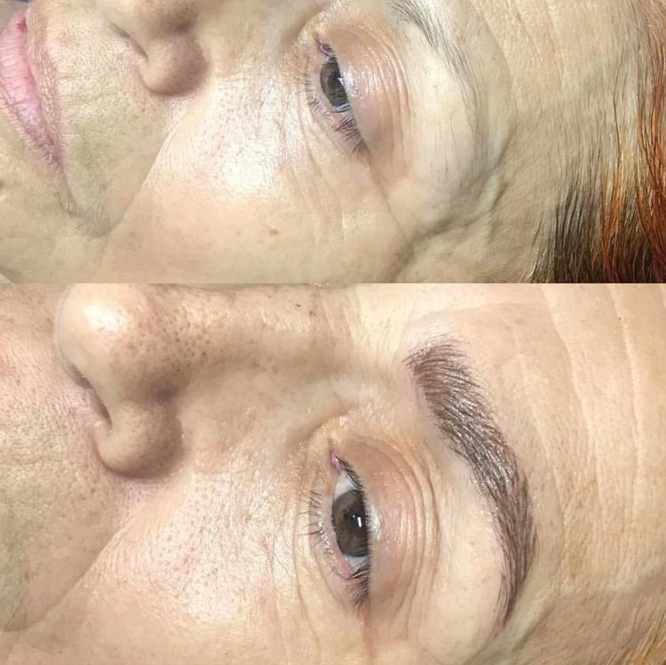Microblading, microblading eyebrows